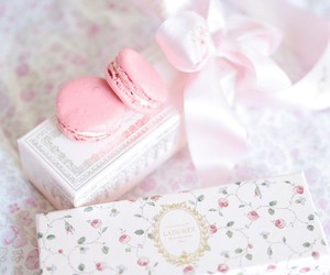 sweet, pink, and laduree image
