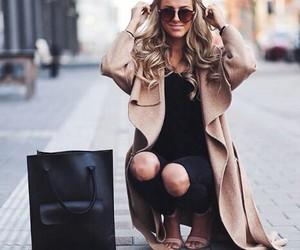fashion, girl, and love image