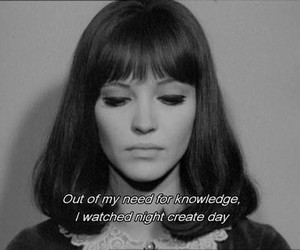 quotes, anna karina, and night image