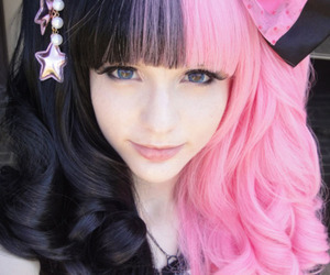black hair, lolita, and lovely image