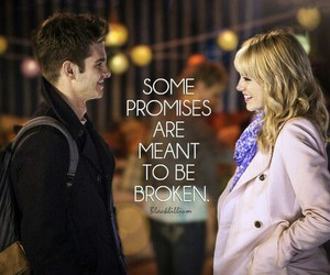 emma stone, andrew garfield, and promises image