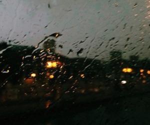grunge, rain, and soft image