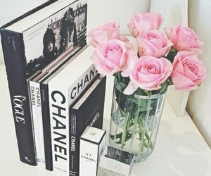 chanel, flowers, and collections image