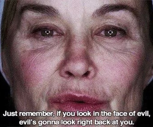 american horror story, evil, and ahs image