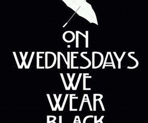 black, wednesday, and ahs image