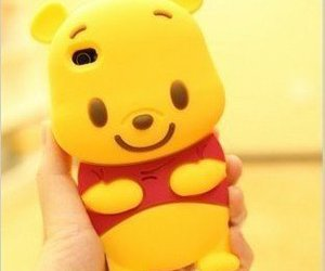 case, iphone, and pooh image