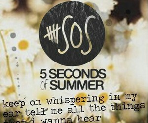 Lyrics, what i like about you, and 5sos image