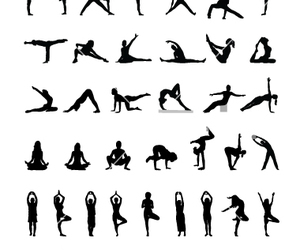 pose, relax, and yoga image