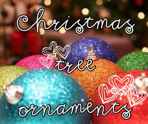 baubles, ornaments, and christmas image