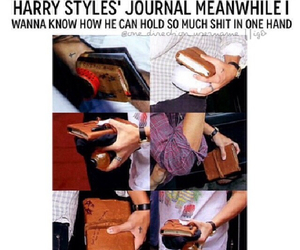 Harry Styles, one direction, and harry's journal image