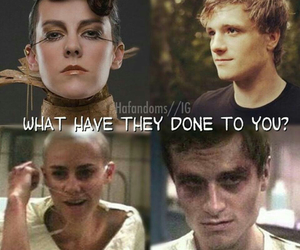 peeta mellark, mockingjay, and johanna mason image