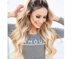 ariana grande, hair, and blonde image