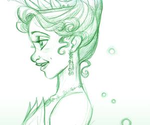 disney, princess, and sketch image