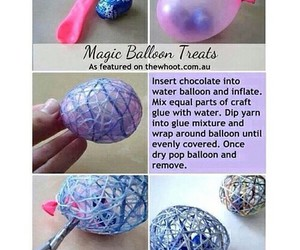diy, balloon, and candy image