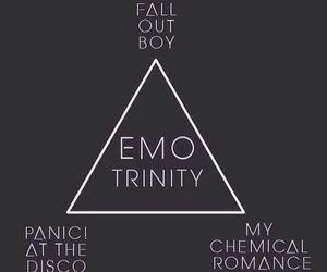 emo, fall out boy, and mcr image