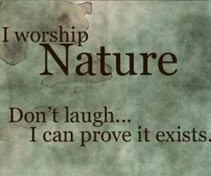 nature and pagan image