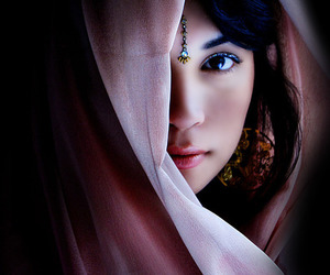 eyes, photography, and woman image