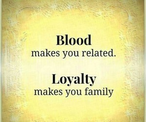 family, relatives, and loyalty image