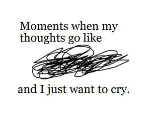 cry, quotes, and moment image
