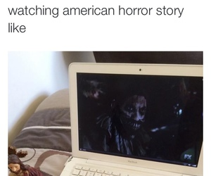 american horror story, funny, and ahs image