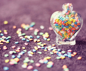 heart, hearts, and colorful image