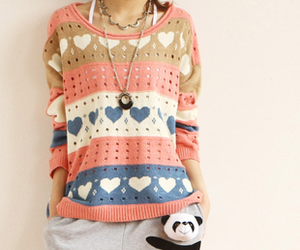 dot, sweater, and heart image
