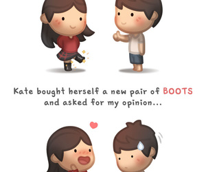 76 Images About Cute Cartoon Couple On We Heart It See More