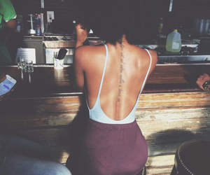 tattoo, sexy, and back image