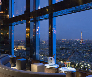 beautiful, dinning, and eiffel tower image