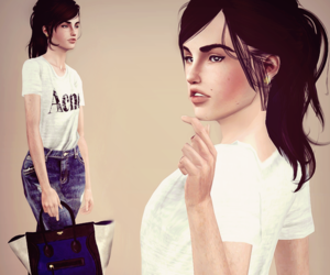 fashion, sims, and sims3 image