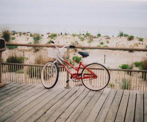 bike, summer, and sun image