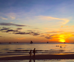 boracay, travel, and perfect image