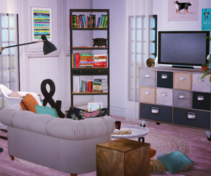 design, interiors, and sims2 image