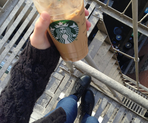 starbucks, coffee, and tumblr image