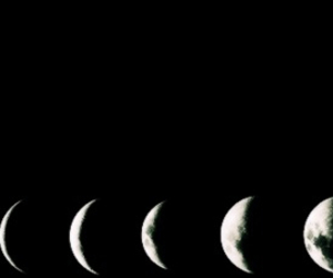 moon, black, and header image