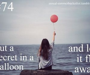 secret, balloon, and fly image