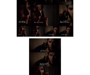 damon, elena, and Vampire Diaries image