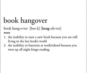book, hangover, and fandom image