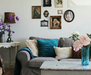 decor, vintage, and interiors image