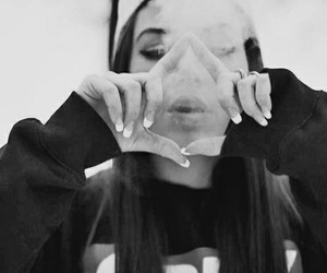 girl, obey, and smoke image