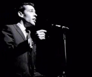 black and white and jacques brel image