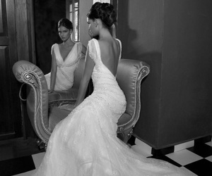 backless, Couture, and lace image