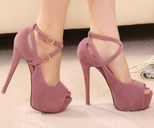 booties, fashion, and pumps image