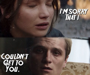 crazy, sad, and hunger games image