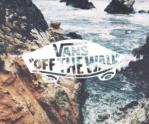 vans, sea, and shoes image