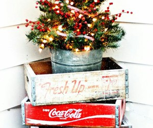 christmas, vintage, and decorations image