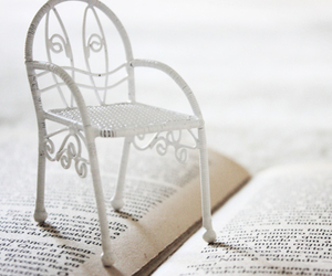book, chair, and antique image
