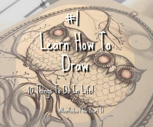 1, draw, and learn image