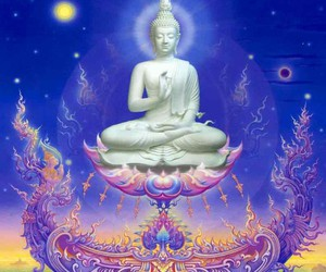 art, Buddha, and spiritual image