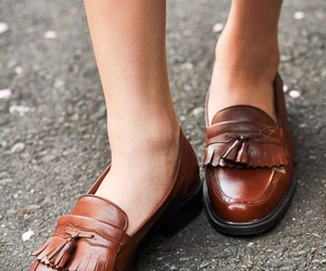 classy, fashion, and loafers image